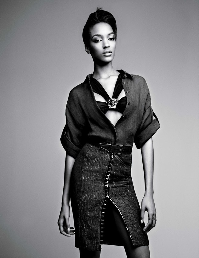 W MAGAZINE Jourdan Dunn & Joan Smalls in Spare Me by Patrick Demarchelier. Patrick Mackie, February 2014, www.imageamplified.com, Image amplified (5)