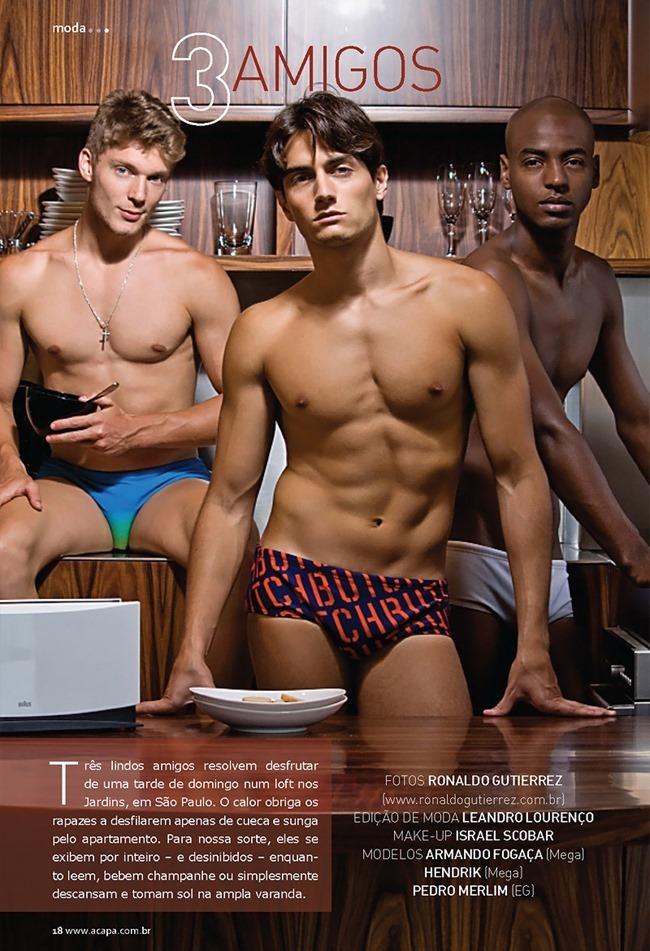 A CAPA MAGAZINE Armando F., Hendrik & Pedro M. in 3 Amigos by Ronaldo Gutierrez. www.imageamplified.com, Image Amplified (7)