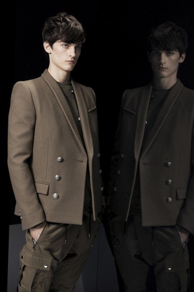 PARIS FASHION WEEK Balmain Menswear Fall 2014. www.imageamplified.com, Image Amplified (11)
