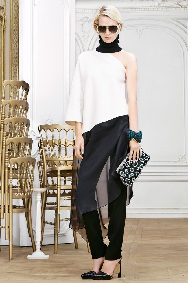 COLLECTION Sasha Luss, Larissa Hofmann, Katlin Aas & Ashleigh Good for Christian Dior Pre-Fall 2014. www.imageamplified.com, Image Amplified (2)