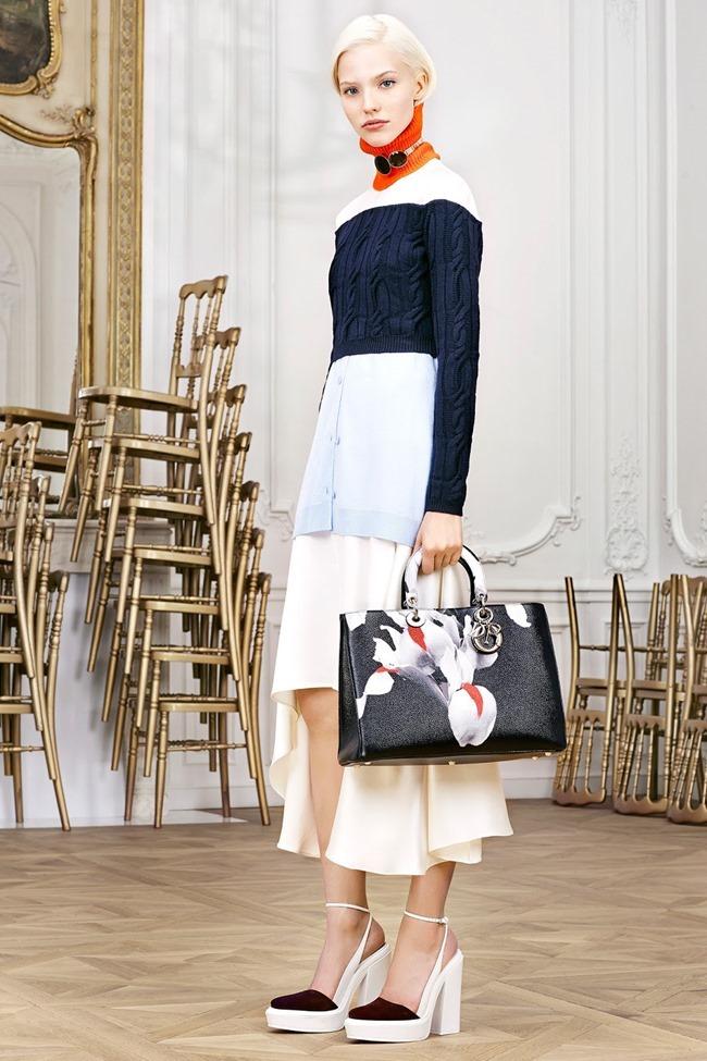 COLLECTION Sasha Luss, Larissa Hofmann, Katlin Aas & Ashleigh Good for Christian Dior Pre-Fall 2014. www.imageamplified.com, Image Amplified (7)