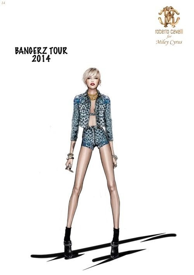COLLECTION The Bangerz World Tour by Roberto Cavalli. www.imageamplified.com, Image Amplified (5)