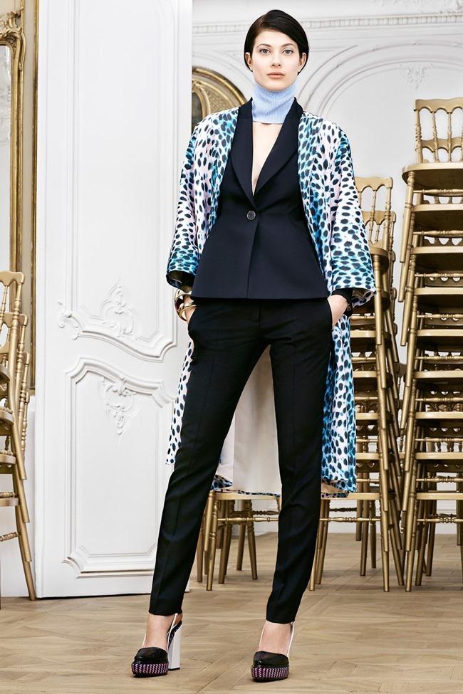 COLLECTION Sasha Luss, Larissa Hofmann, Katlin Aas & Ashleigh Good for Christian Dior Pre-Fall 2014. www.imageamplified.com, Image Amplified (15)