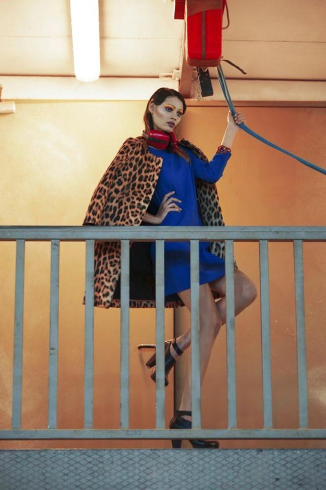 IMAGE AMPLIFIED MAGAZINE Alane Souza in Melt in Colors by Virginia Di Mauro. Valeria Gaetano , Spring 2014, www.imageamplified.com, Image Amplified (15)