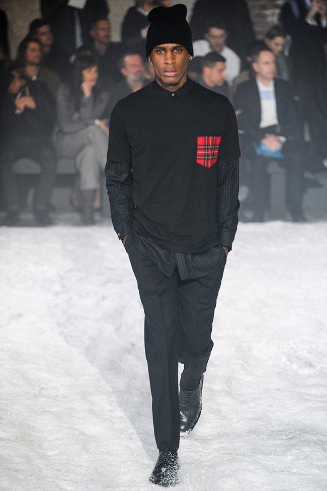 PARIS FASHION WEEK Ami Menswear Fall 2014. www.imageamplified.com, Image Amplified (4)
