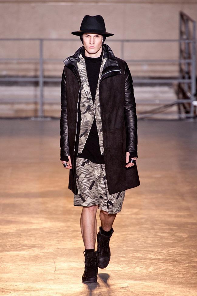 PARIS FASHION WEEK Boris Bidjan Saberi Menswear Fall 2014. www.imageamplified.com, Image Amplified (14)