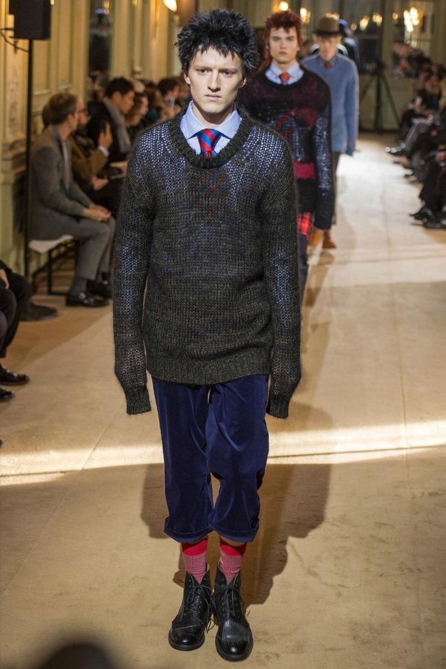 PARIS FASHION WEEK Junya Watanabe Menswear Fall 2014. www.imageamplified.com, Image Amplified (1)