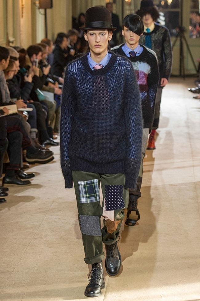 PARIS FASHION WEEK Junya Watanabe Menswear Fall 2014. www.imageamplified.com, Image Amplified (4)