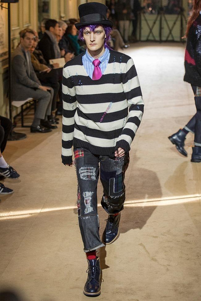 PARIS FASHION WEEK Junya Watanabe Menswear Fall 2014. www.imageamplified.com, Image Amplified (8)
