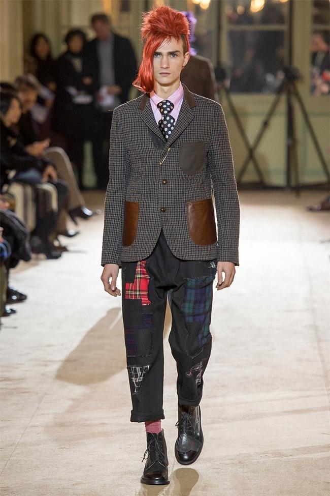 PARIS FASHION WEEK Junya Watanabe Menswear Fall 2014. www.imageamplified.com, Image Amplified (9)