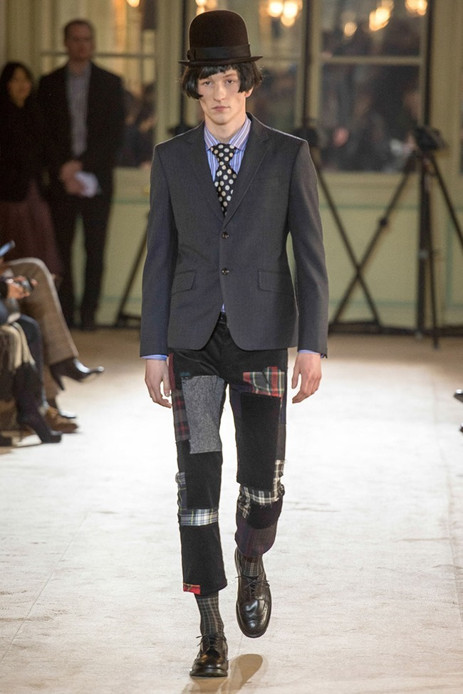 PARIS FASHION WEEK Junya Watanabe Menswear Fall 2014. www.imageamplified.com, Image Amplified (10)