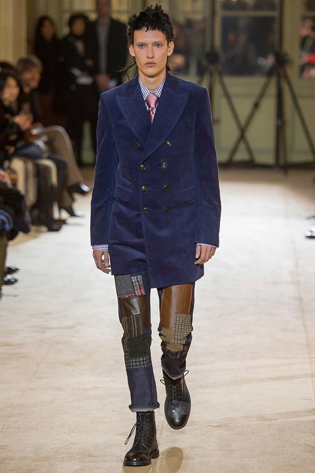 PARIS FASHION WEEK Junya Watanabe Menswear Fall 2014. www.imageamplified.com, Image Amplified (13)