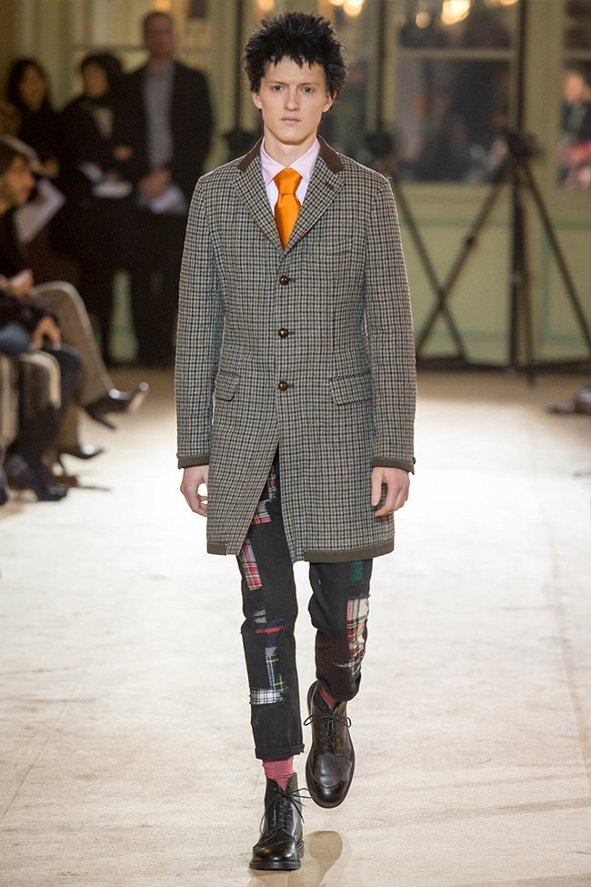 PARIS FASHION WEEK Junya Watanabe Menswear Fall 2014. www.imageamplified.com, Image Amplified (20)