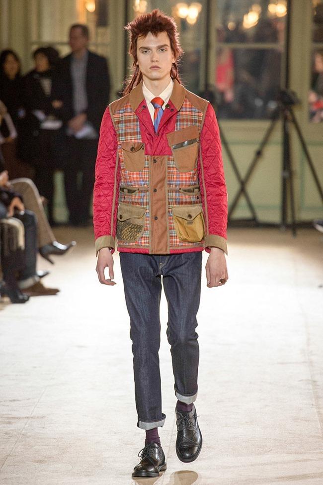 PARIS FASHION WEEK Junya Watanabe Menswear Fall 2014. www.imageamplified.com, Image Amplified (22)