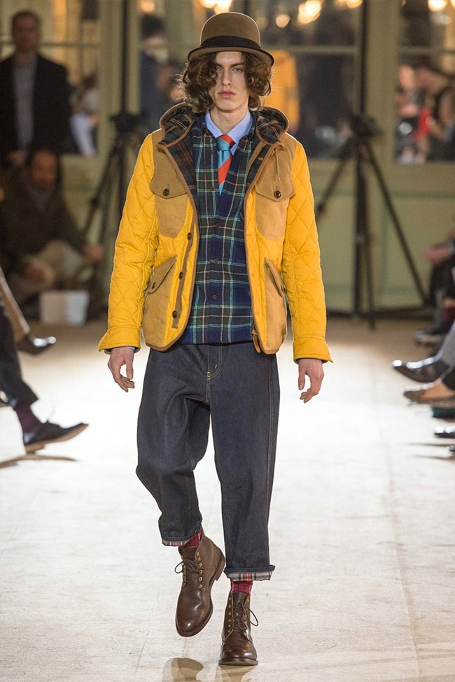 PARIS FASHION WEEK Junya Watanabe Menswear Fall 2014. www.imageamplified.com, Image Amplified (30)