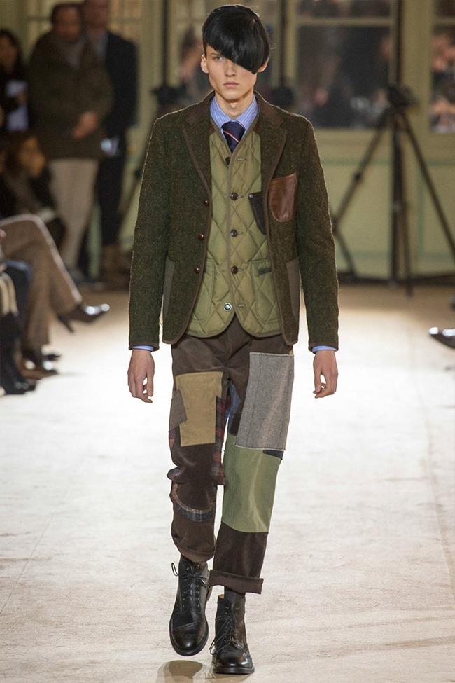 PARIS FASHION WEEK Junya Watanabe Menswear Fall 2014. www.imageamplified.com, Image Amplified (37)