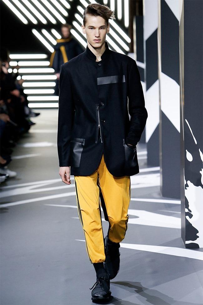 PARIS FASHION WEEK Y-3 Menswear Fall 2014. www.imageamplified.com, Image Amplified (26)