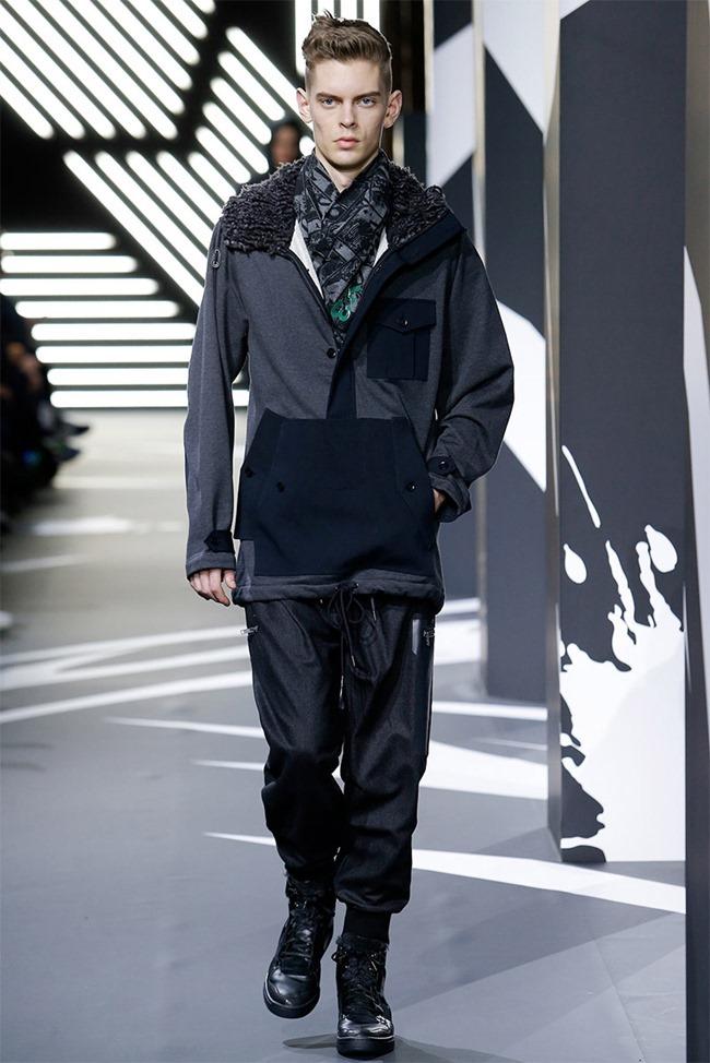 PARIS FASHION WEEK Y-3 Menswear Fall 2014. www.imageamplified.com, Image Amplified (29)