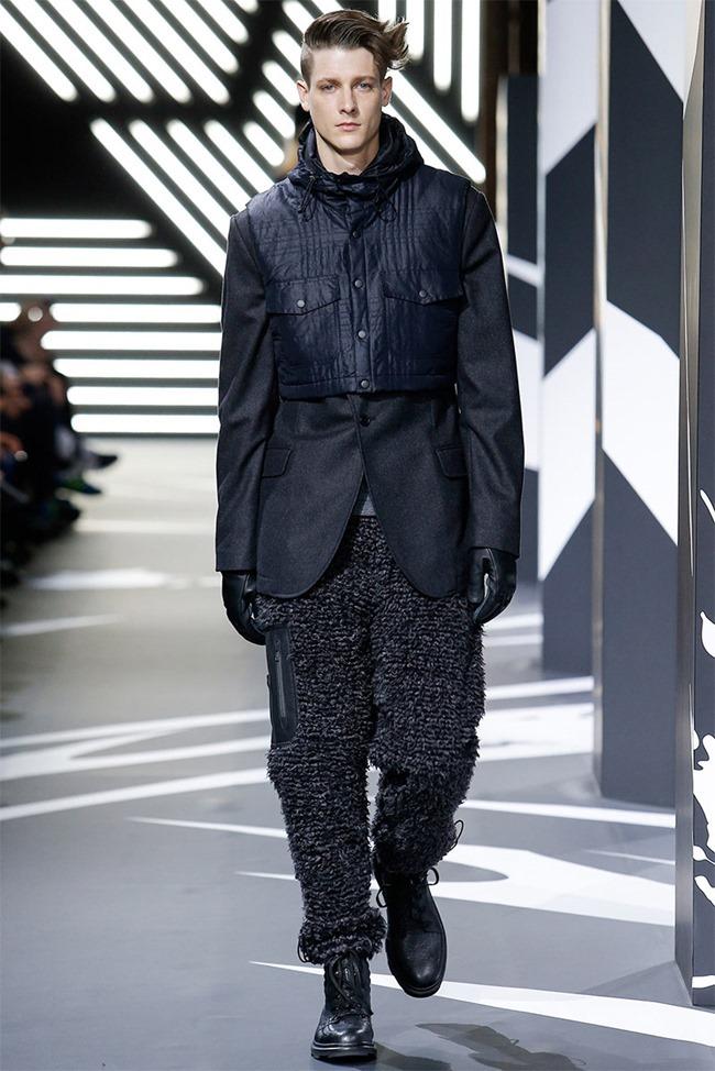 PARIS FASHION WEEK Y-3 Menswear Fall 2014. www.imageamplified.com, Image Amplified (18)