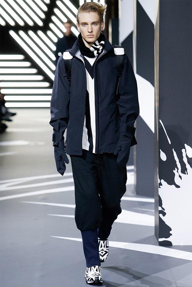 PARIS FASHION WEEK Y-3 Menswear Fall 2014. www.imageamplified.com, Image Amplified (20)