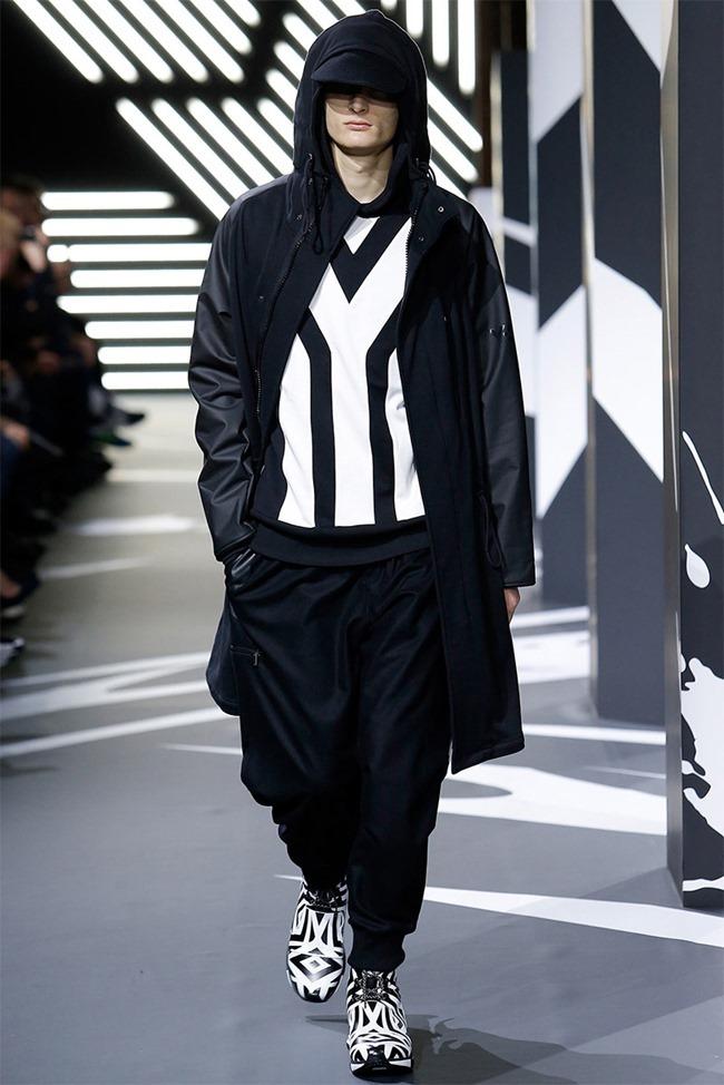 PARIS FASHION WEEK Y-3 Menswear Fall 2014. www.imageamplified.com, Image Amplified (22)