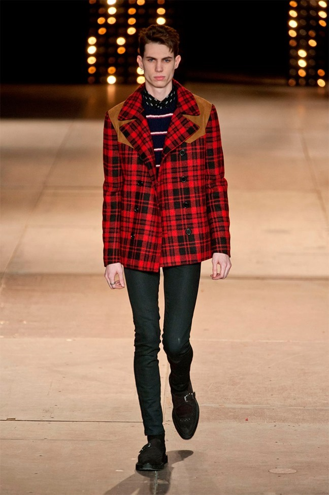PARIS FASHION WEEK Saint Laurent Fall 2014. www.imageamplified.com, Image Amplified (24)