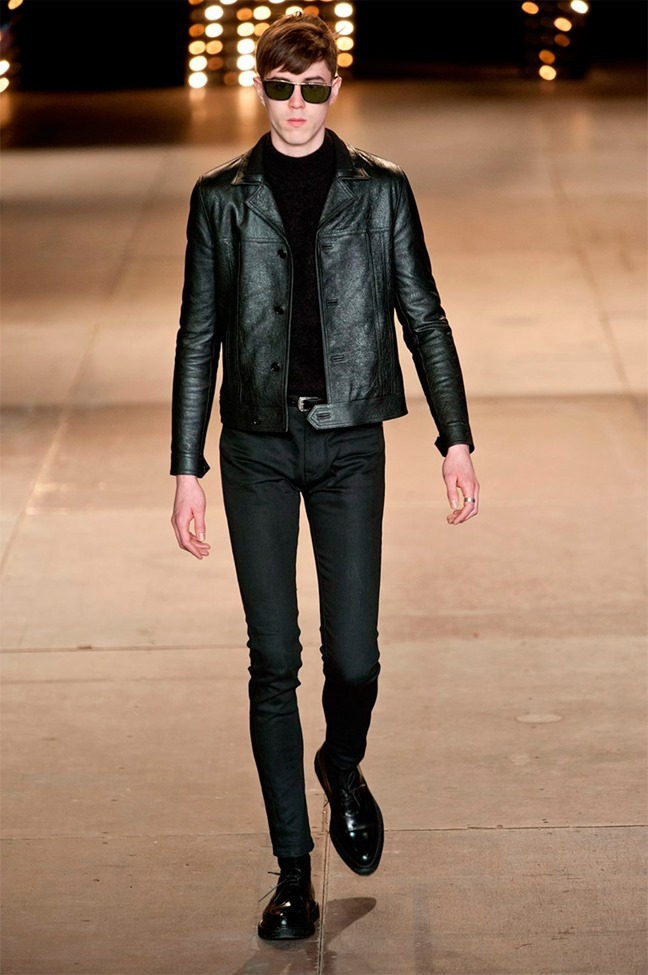 PARIS FASHION WEEK Saint Laurent Fall 2014. www.imageamplified.com, Image Amplified (2)