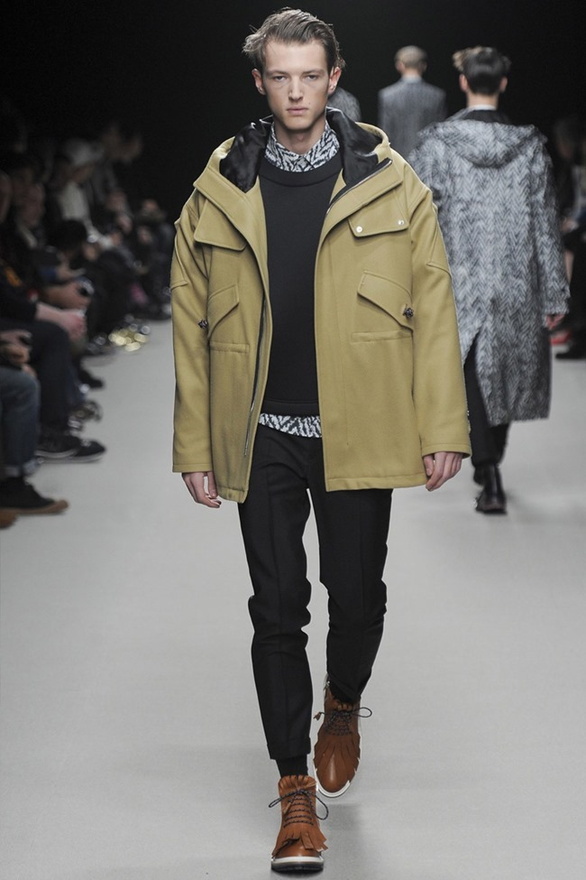 PARIS FASHION WEEK Kris Van Assche Menswear Fall 2014. www.imageamplified.com, Image Amplified (2)