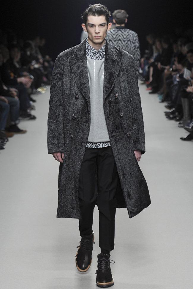 PARIS FASHION WEEK Kris Van Assche Menswear Fall 2014. www.imageamplified.com, Image Amplified (4)