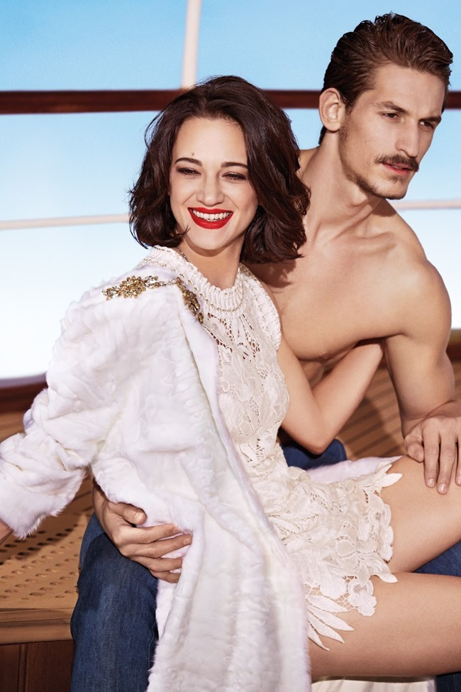 CAMPAIGN Asia Argento & Jarrod Scott for Ermanno Scervino Spring 2014 by Francesco Carrozzini. www.imageamplified.com, Image Amplified (2)