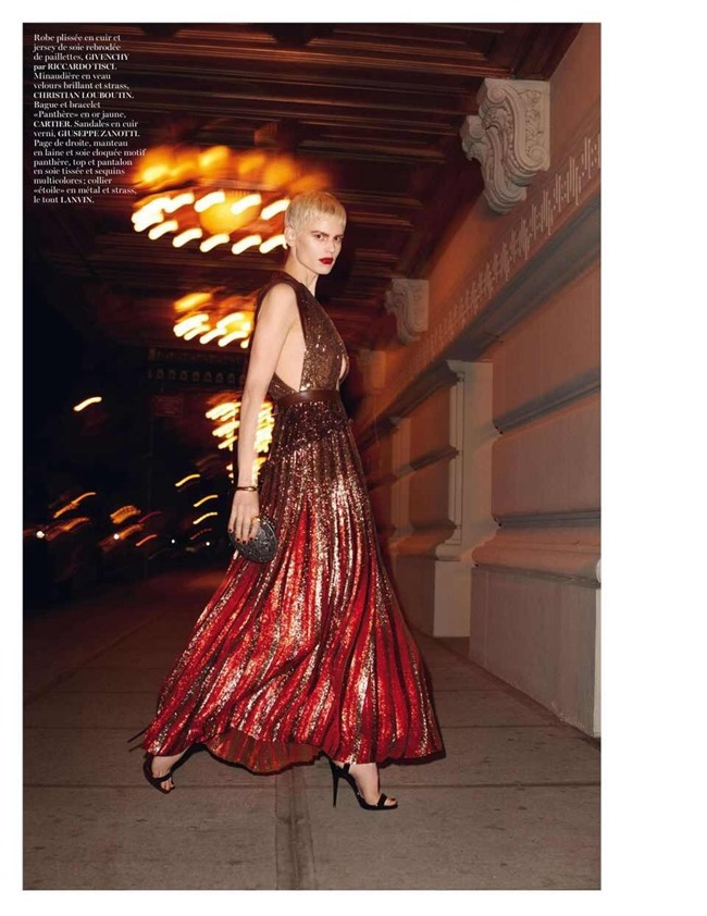 VOGUE PARIS Saskia De Brauw by Terry Richardson. Clare Richardson, February 2014, www.imageamplified.com, Image Amplified (1)