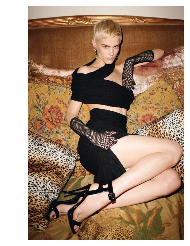 VOGUE PARIS Saskia De Brauw by Terry Richardson. Clare Richardson, February 2014, www.imageamplified.com, Image Amplified (6)
