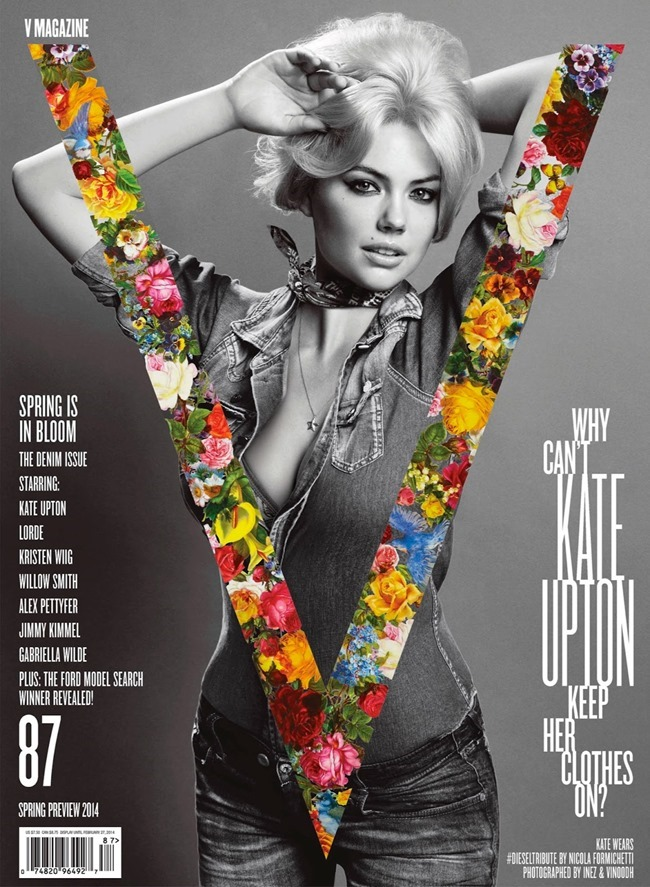V MAGAZINE Kate Upton in The Only Way Is Upton by Inez & Vinoodh. Nicola Formichetti, Spring 2014, www.imageamplified.com, Image Amplified (1)