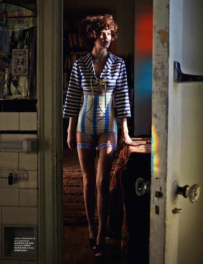 INTERVIEW GERMANY Lindsey Wixson & Jon Kortajarena in Licht! Drama! Action! by Sebastian Faena. Julia von Boehm, February 2014, www.imageamplified.com, Image Amplified (5)