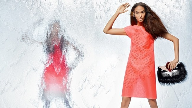CAMPAIGN Nadja Bender & Joan Smalls for Fendi Spring 2014 by Karl Lagerfeld. www.imageamplified.com, Image Amplified (17)