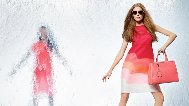 CAMPAIGN Nadja Bender & Joan Smalls for Fendi Spring 2014 by Karl Lagerfeld. www.imageamplified.com, Image Amplified (1)