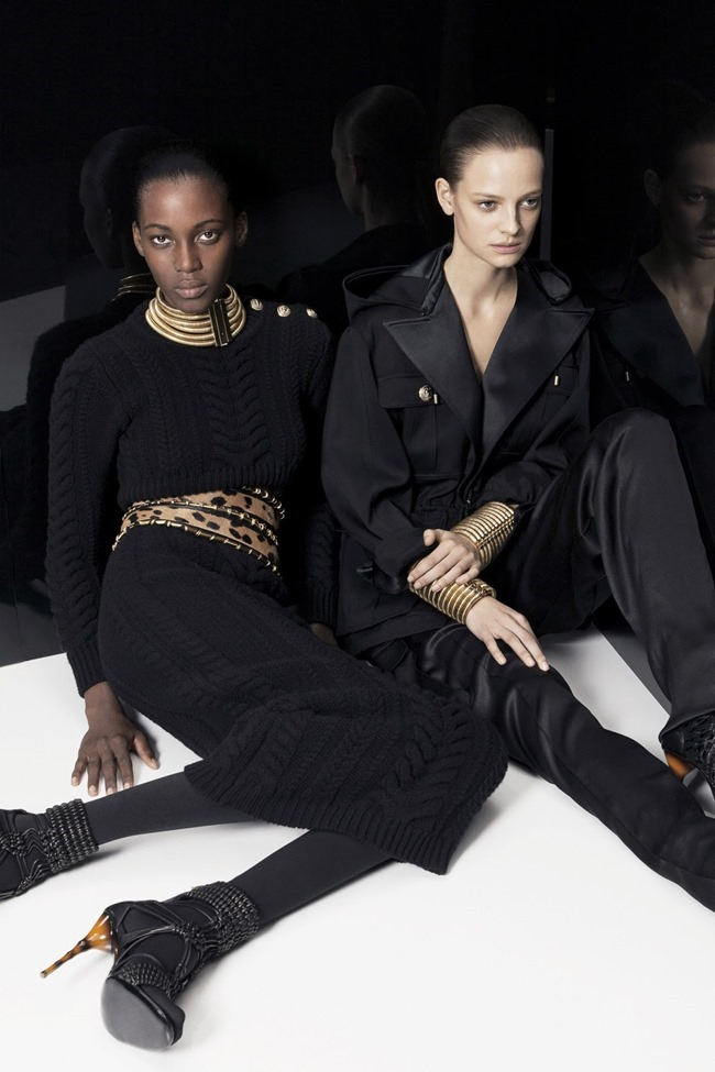 COLLECTION Ine Neefs & Kai Newman for Balmain Pre-Fall 2014. www.imageamplified.com, Image Amplified (33)