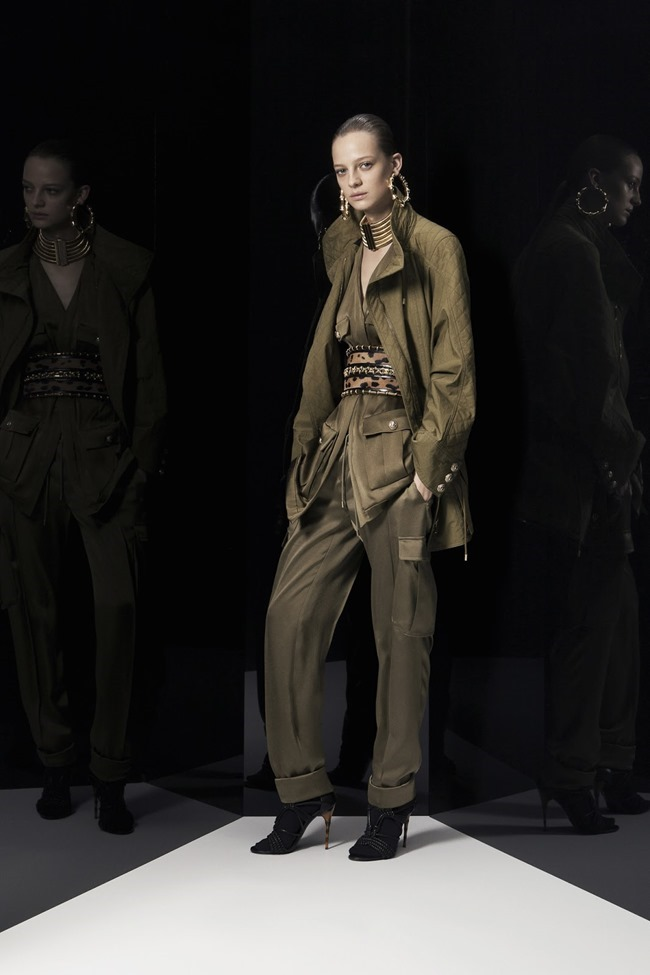 COLLECTION Ine Neefs & Kai Newman for Balmain Pre-Fall 2014. www.imageamplified.com, Image Amplified (2)