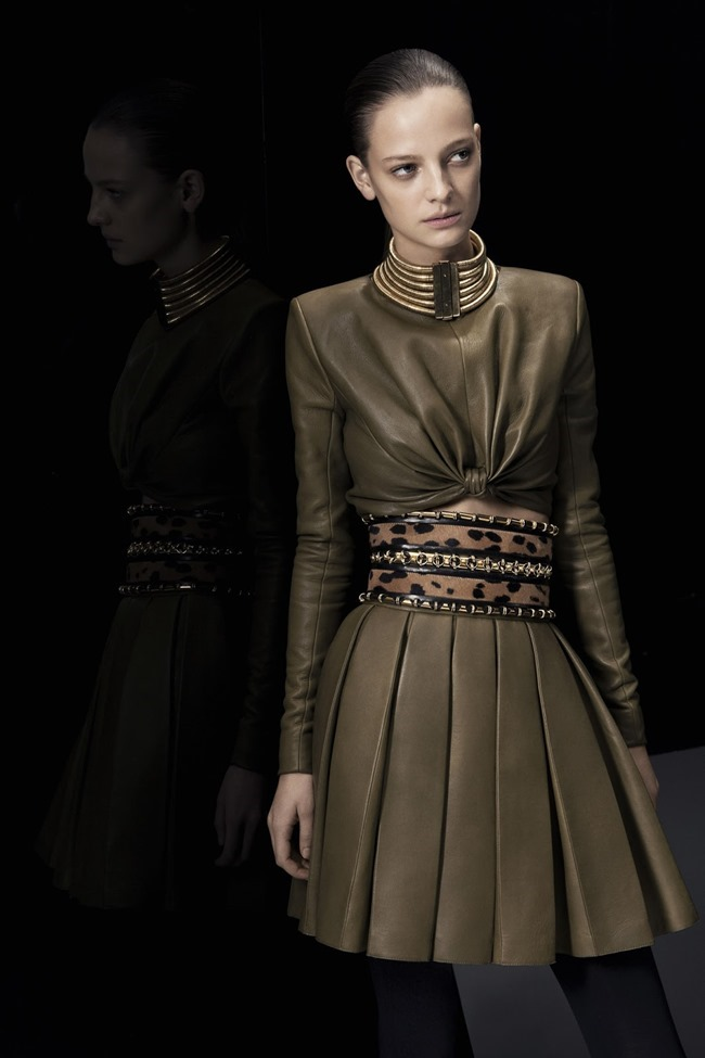 COLLECTION Ine Neefs & Kai Newman for Balmain Pre-Fall 2014. www.imageamplified.com, Image Amplified (3)