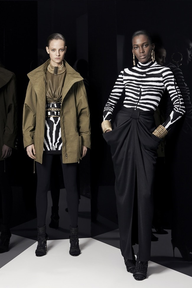 COLLECTION Ine Neefs & Kai Newman for Balmain Pre-Fall 2014. www.imageamplified.com, Image Amplified (13)
