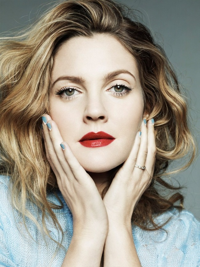 MARIE CLAIRE MAGAZINE Drew Barrymore in The Rebel Next Door by Jan Welters. Alison Edmond, February 2014, www.imageamplified.com, Image Amplified (5)