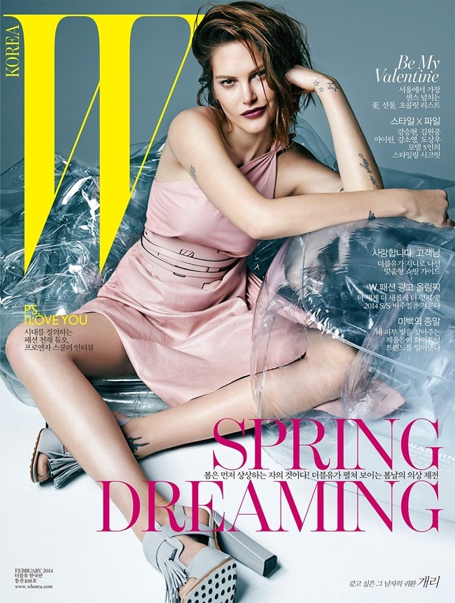 W KOREA Catherine McNeil by Hong Jang Hyun. Joanne Blades, February 2014, www.imageamplified.com, Image Amplified (8)