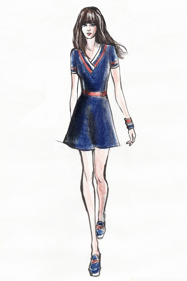 COLLECTION Zooey Deschanel x Tommy Hilfiger on To Tommy Spring 2014. www.imageamplified.com, Image Amplified (6)
