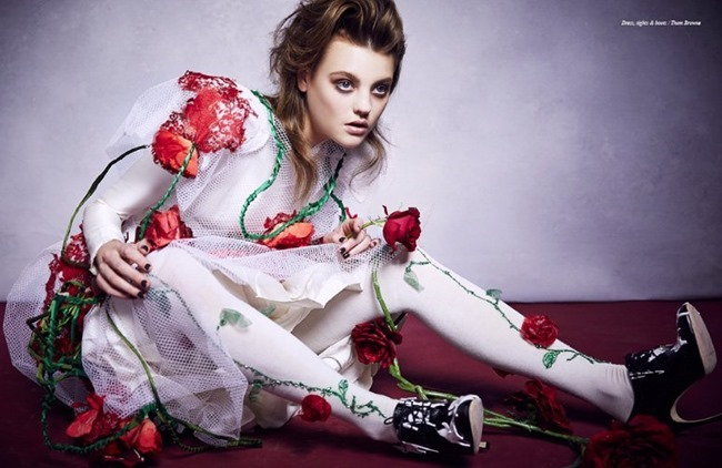 SCHON MAGAZINE Montana Cox in Roses by Caroline Knopf. Spring 2014, www.imageamplified.com, Image Amplified (6)