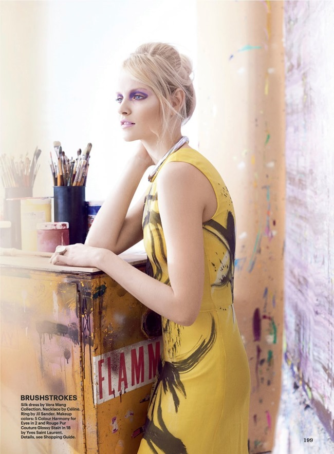 ALLURE MAGAZINE Ginta Lapina in Art Throb by Regan Cameron. Siobhan Bonnouvrier, February 2014, www.imageamplified.com, Image Amplified (6)