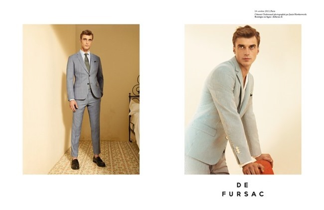 CAMPAIGN Clement Chabernaud for De Fursac Spring 2014 by Jamie Hawkesworth. www.imageamplified.com, Image Amplified (1)