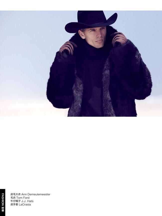 GQ CHINA Benjamin Eidem in Wild Cowboy by Bruno Staub. January 2014, www.imageamplified.com, Image Amplified (3)