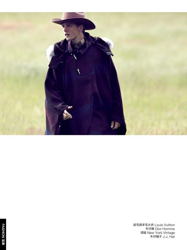 GQ CHINA Benjamin Eidem in Wild Cowboy by Bruno Staub. January 2014, www.imageamplified.com, Image Amplified (6)