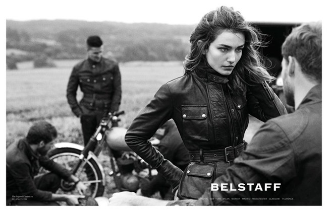 CAMPAIGN David Beckham & Andreea Diaconu for Belstaff Spring 2014 by Peter Lindbergh. www.imageamplified.com, Image Amplified (3)
