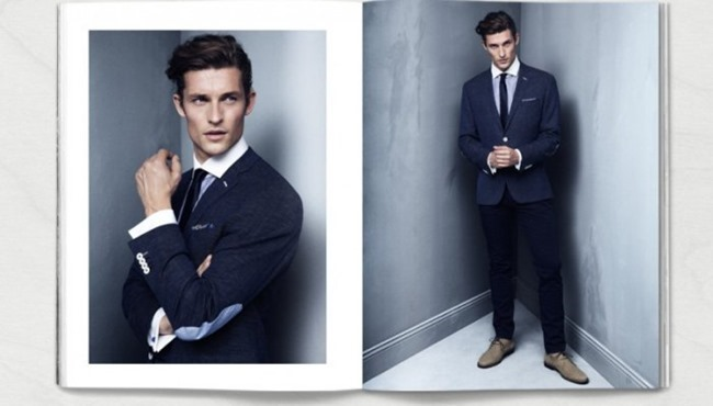 CAMPAIGN Wouter Peelen in Preppy Update for H&M Spring 2014. www.imageamplified.com, Image amplified (6)